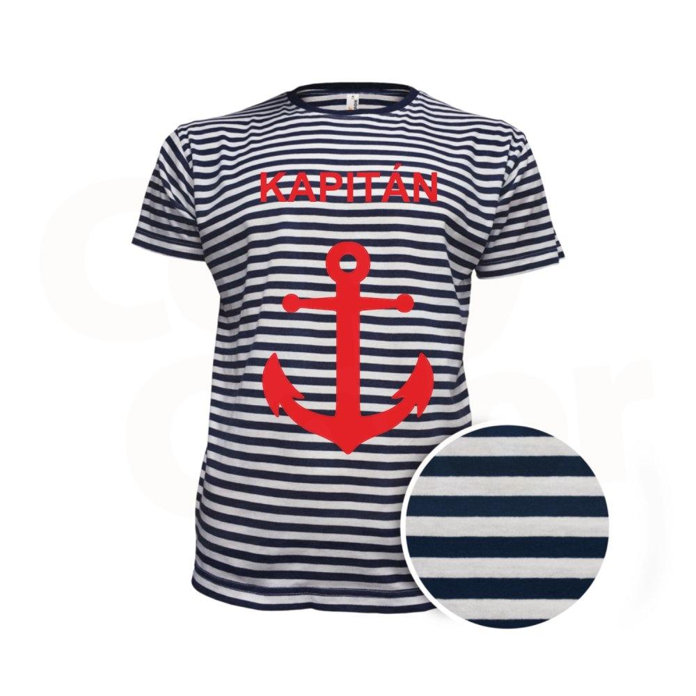 Modré vodácké tričko s potiskem • COPY-COLOR.cz d5a9e88792