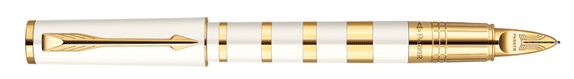PARKER 5TH Ingenuity Pearl Metal & Lacquer GT • COPY-COLOR.cz